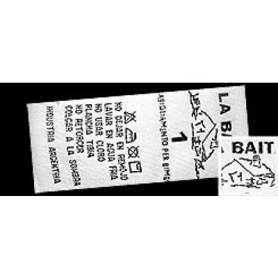Etiquetas Satin 20mm de ancho (100 metros)
